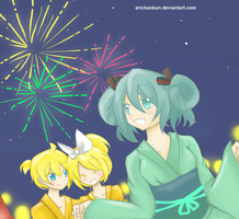 Vocaloid: festival by erichankun