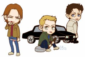 SPN by glaringstar