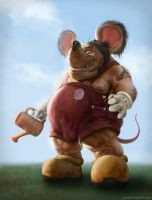 Mickey Mouse by Verehin