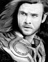 Avengers: The God of Thunder, Thor by artbyjoewinkler