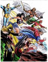 Golden Age JSA by RamonVillalobos