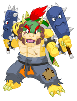 GREAT DEMON KING BOWSER by ProjectHazoid