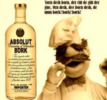 Absolut Bork - The Muppets by Khymera