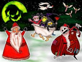 The Nightmare Before Christmas by DV-Venom