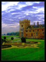 Oxburgh Hall Topiary Gardens by Forestina-Fotos