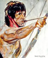 Rambo. First Blood part 2 by Martinkumnick