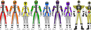 Power Rangers Prism Force by firebirdmaximus