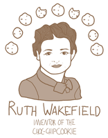 Ladies of Measure: Ruth Wakefield by FortyFourArrows