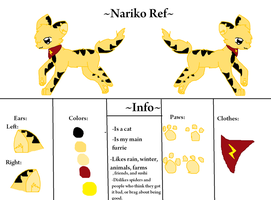 (NEW) Nariko Reference by nooks-crannies