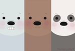 We bare bears Wallpaper by Parkerychy