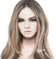 Cara Delevingne by ViiSuAlizE