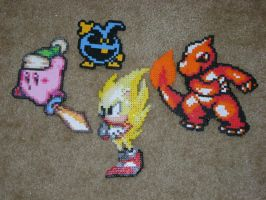 Miscellaneous Bead Sprites by Shadow-Tigress