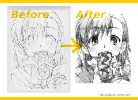 Before After by gofu-web