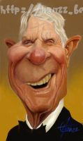 Peter Graves by Hanzz-caricatures