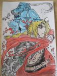 Fullmetal Alchemist - Edward and Alphonse by stipe320