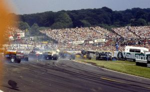 1986 British Grand Prix Start by F1-history