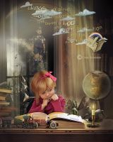 In my fantasy world by CindysArt