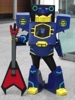 Soundwave Cosplay by Swindle86