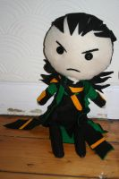 Loki plushie by Lilyfer
