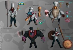 Skins Ideas1 : Iron Chefs by ZeitExmind