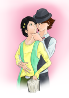 Commission: Shotaro and Philip by Ankh-Ascendant