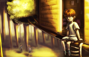 Treehouse by ghostchiryou