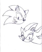 sonic and shadow: head by mikusia27