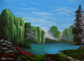 weeping willows by jkclayton