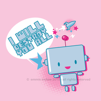 Little Robot by EmmieMcKee