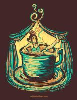 Coffee Bath by unfinishedtears