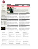 newspaper website 2 by muschetarul