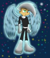 Danny Phantom Angel by raygirl12