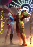 In the Park with Cammy and Sabertooth  by RyanTing