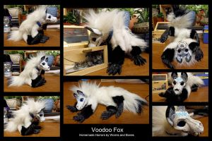 Voodoo Fox by WormsandBones