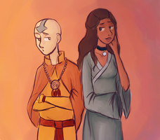 Kataang- Under Our Clothes by schellibie