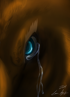Beast In Tears (Disney (attempt)) by Darkwolfhellhound