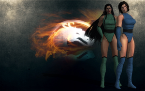 Jade&Kitana by ScareMeBeautiful