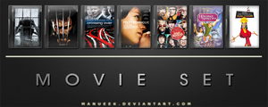 Movie DVD Icons 20 by manueek