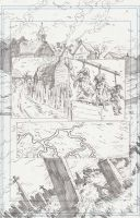 WH Page 1 Pencils by KurtBelcher1