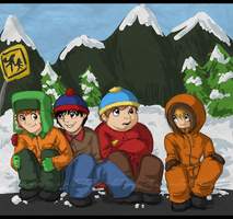 Goin' on down to South Park by SpiritLeTitan