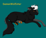 DemonWolfster by Sumi--Chan