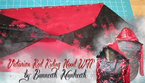 Stage 6: Victorian Red Riding Hood by Bunneahmunkeah