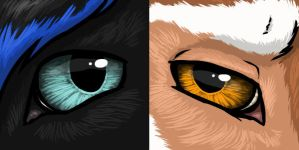 Kugetsu Eye Icons by Octobertiger