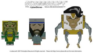 Cubeecraft - MEGAS XLR 2 by CyberDrone