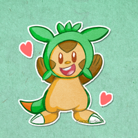 Chespin Cutie by Candy-Swirl