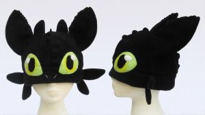 Toothless Hat by clearkid