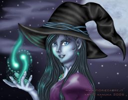 Witch by Kanuka76