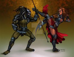 A worthy opponent! Klingons vs Predators by StalinDC