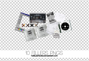 10 Fillers pngs by turnlastsong