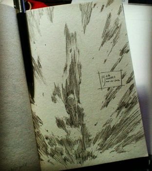 Daybook Entry 28 - one jump from the moon by werder